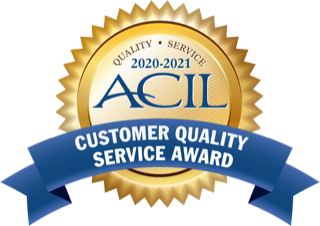PTL Receives ACIL Customer Quality Service Award for the Eighth Consecutive Year with Special Recognition for Timeliness